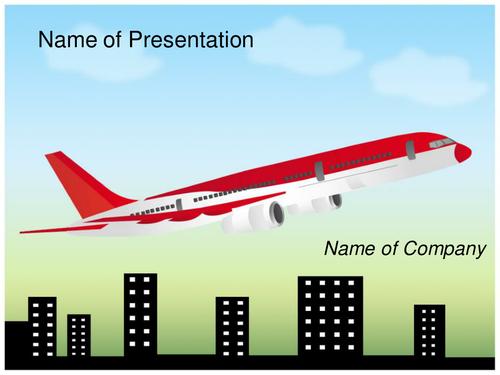 Aeroplane PPT Template