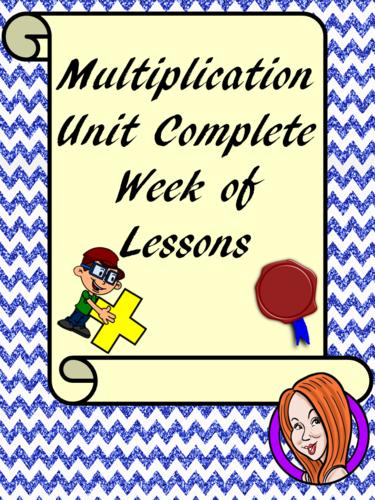 Multiplication Complete Week of Work
