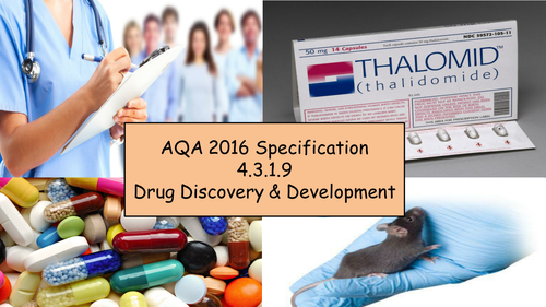 AQA GCSE Biology 2016 Specification 4.3.1.9 - Drug Discovery & Development