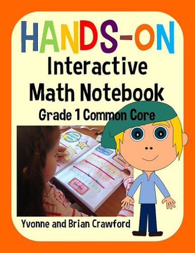 Interactive Math Notebook First Grade Common Core