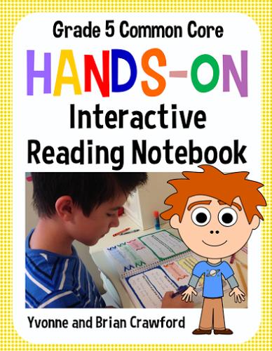 Interactive Reading Notebook Fifth Grade Common Core
