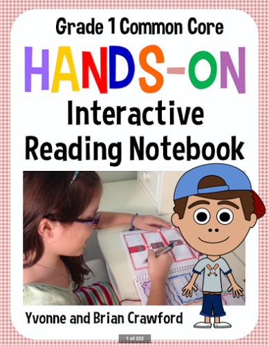 Interactive Reading Notebook First Grade Common Core By
