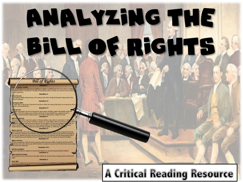 Analyzing the U.S. Bill of Rights