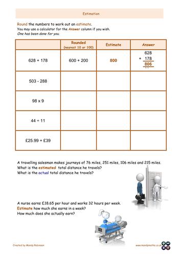 Functional Math Worksheets - Worksheets