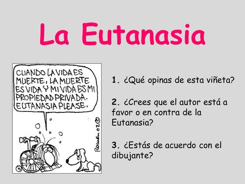 La Eutanasia + The Sea Inside (Mar Adentro)