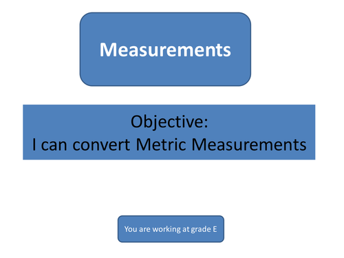 Metric to Imperial