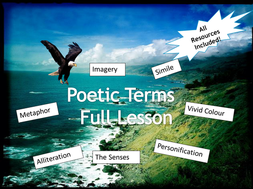 Poetic Terms - Full Lesson