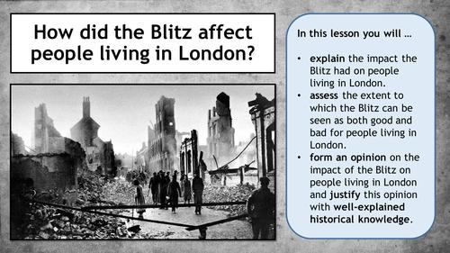 Second World War - The Blitz