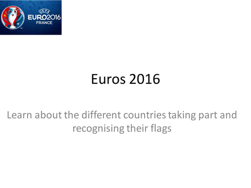 Euro 16 additional resources