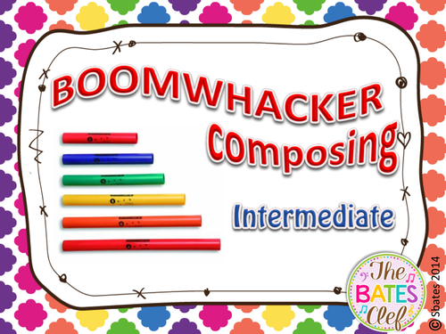 Boomwhacker Composing - Intermediate