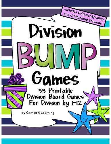 Division Games 33 Division Bump Games