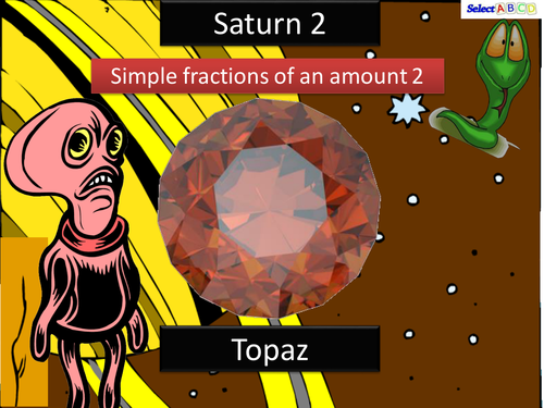 Saturn - Simple Fractions 2