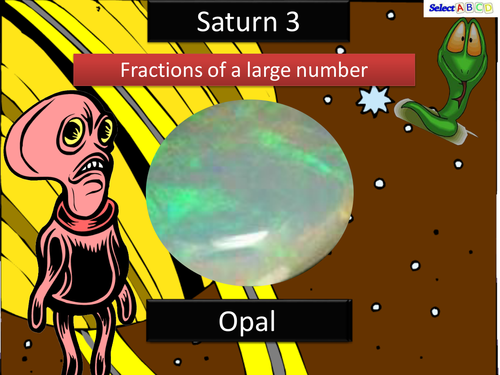 Saturn - Larger Fraction