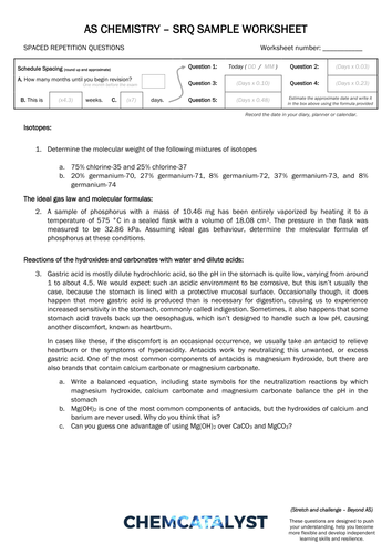 ChemCatalyst Chemistry - Teaching Resources - TES