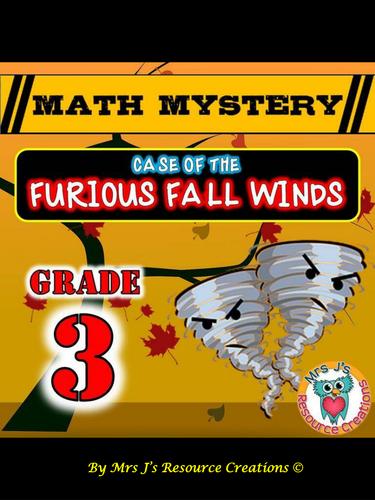 Fall Math Mystery (GRADE 3)