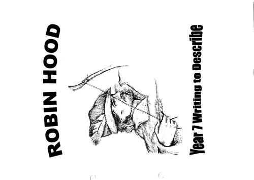 Robin Hood writing to describe