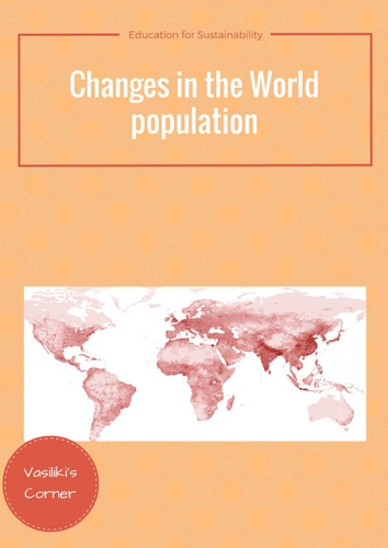 Changes in the world population