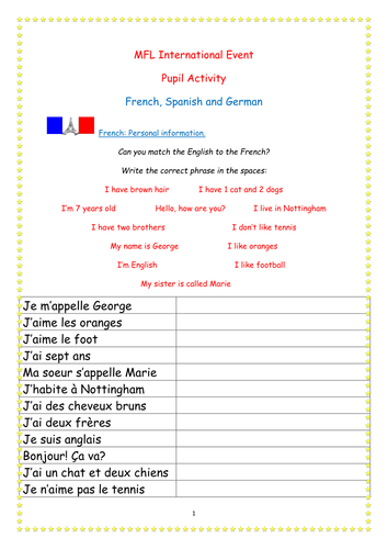 European Day of Languages Board Game by betsybelleteach - Teaching ...