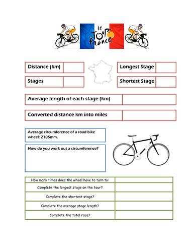 Maths and the Tour de France