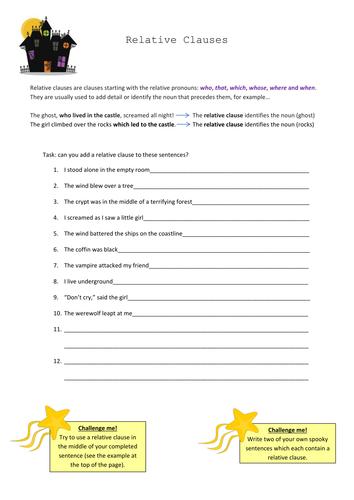 Year 7 English Worksheets - A Worksheet Blog