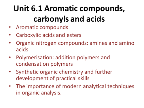 Benzene - OCR A Level Chemistry (Aromatic Chemistry)