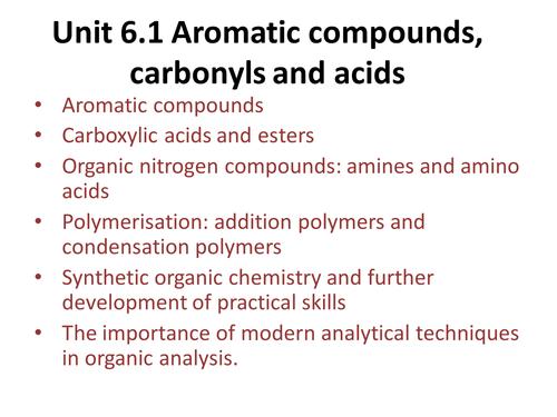 Benzene - OCR A Level Chemistry (Aromatic Chemistry)