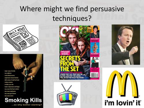 Newspaper Writing Lesson Pack - Persuasive language