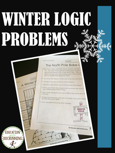 Winter Math: Logic Puzzles for Winter