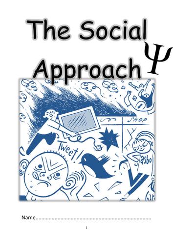 Edexcel AS 2015 Social Approach Booklet