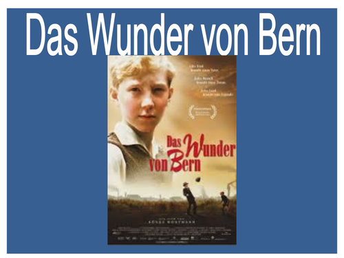 Das Wunder von Bern - pre film lesson