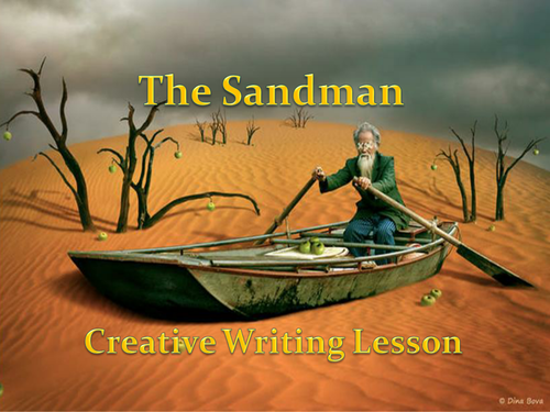 Double Lesson Pack Paris Descriptive Writing and The Sandman Creative Writing