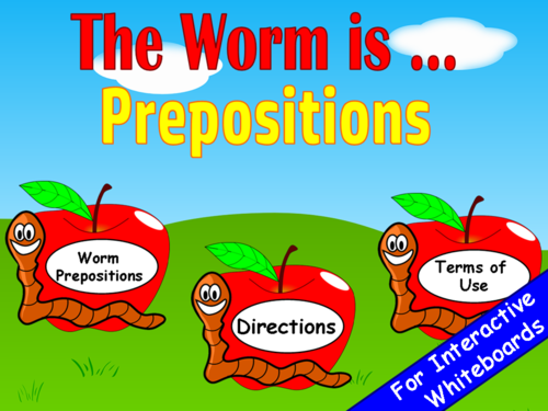 Prepositions PowerPoint Game