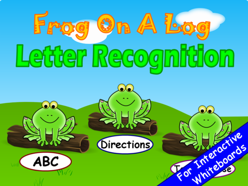 Alphabet Letters PowerPoint Game