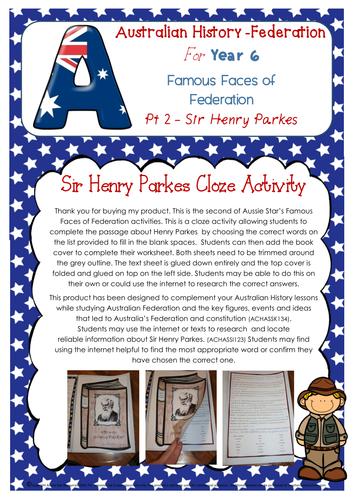 Famous Faces of Australian Federation Part 2 Sir Henry Parkes