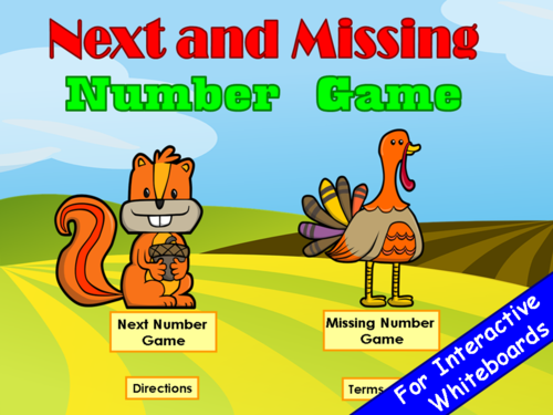 Number Order PowerPoint Game