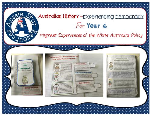 Year 6 Australian History - Migrant Experiences of Democracy