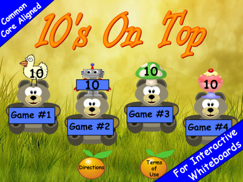 Counting by 10's PowerPoint Game
