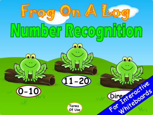 Numbers (1-20) PowerPoint Game