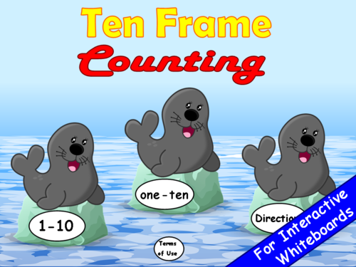 Ten Frame Counting PowerPoint Game