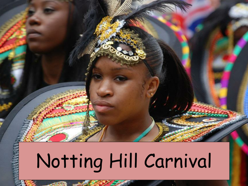 A visual and informaive presentation on Notting Hill Carnival in August, London