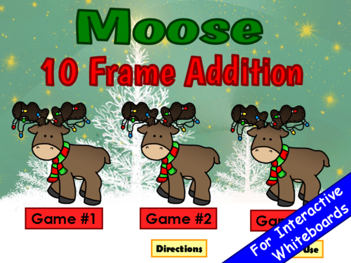 10 Frame Addition PowerPoint Game