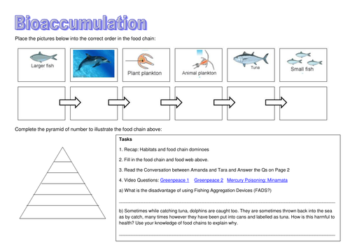 Bioaccumulation PPT and booklet and case study article