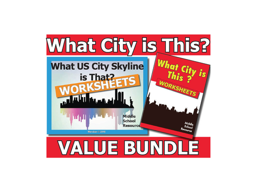 What City is This? **BUNDLE**