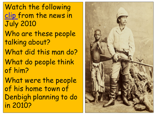 """Dr. Livingstone I presume?"" - Should Denbigh have a statue to honour H M Stanley?"