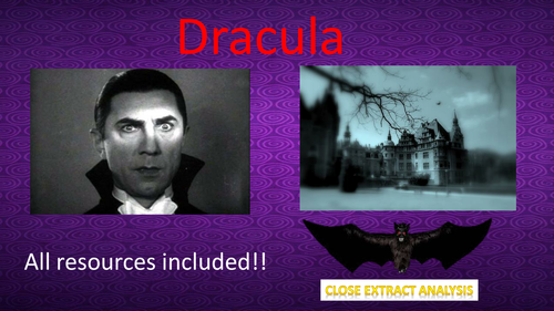 Dracula Extract - Complete Lesson