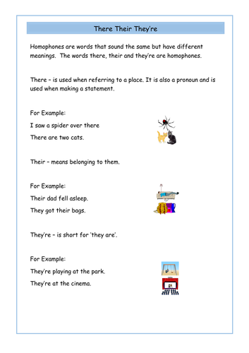 their there and they 39 re year 2 homophones worksheets by krazikas uk teaching resources tes. Black Bedroom Furniture Sets. Home Design Ideas