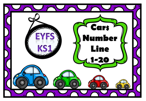 Numbers 1-20 Theme Cars