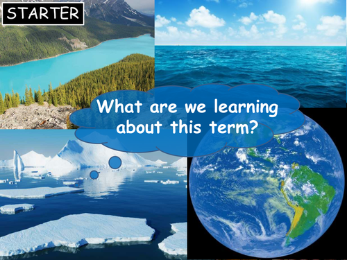 Water in the World - set of 9 lessons