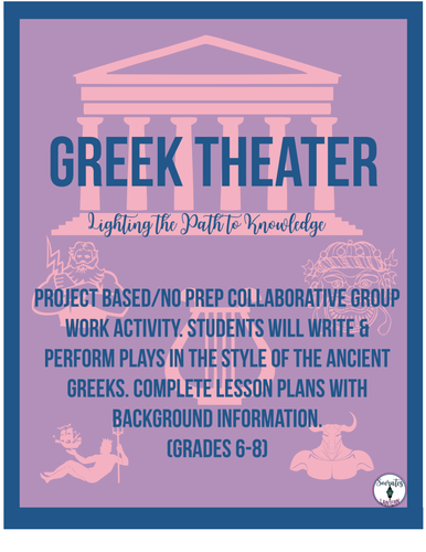 Greek Theater Unit (Grades 5-8)