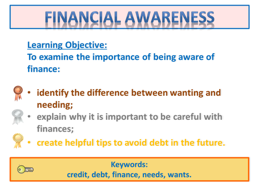 Personal Finance and Business - Teaching Resources - TES